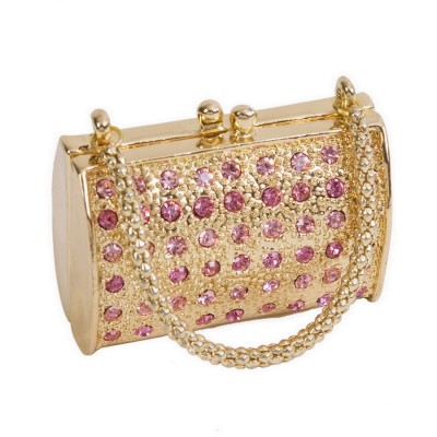 Rose Crystal Handbag