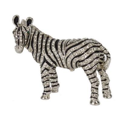 Silver Crystal Zebra