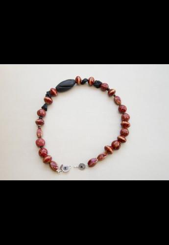 Crimson Onyx Necklace