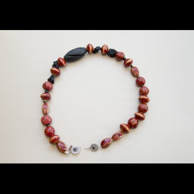 Crimson Onyx Necklace