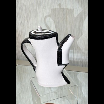 Series in Black and White Teapot