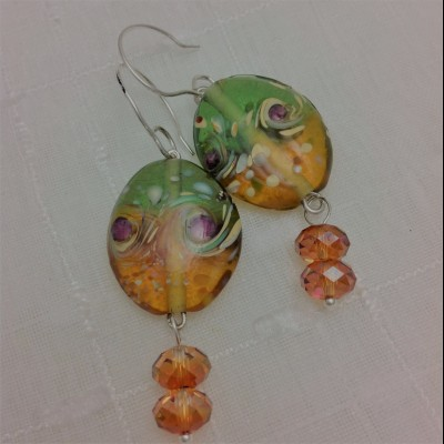Ambergras Earrings