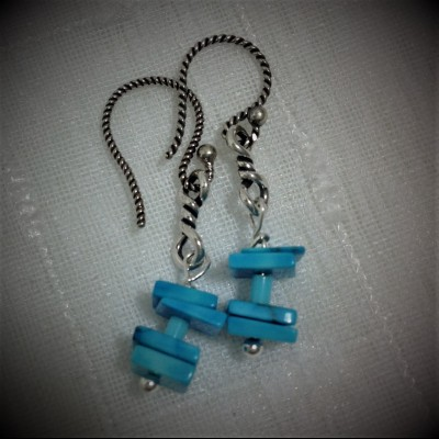 Square Sleeper Earrings