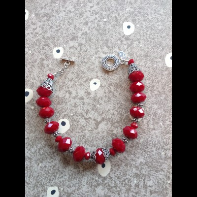 Crimson Dreams Bracelet
