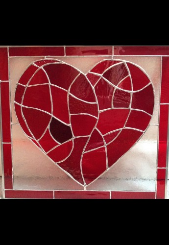All My Love Stained Glass