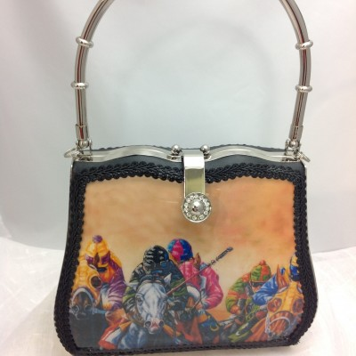 Down The Stretch Handbag
