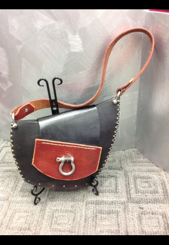 Black Asymmetry Bag
