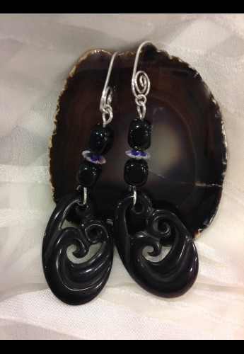 Antelope Onyx Earrings