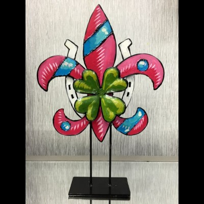 Steel Fleur de Lis