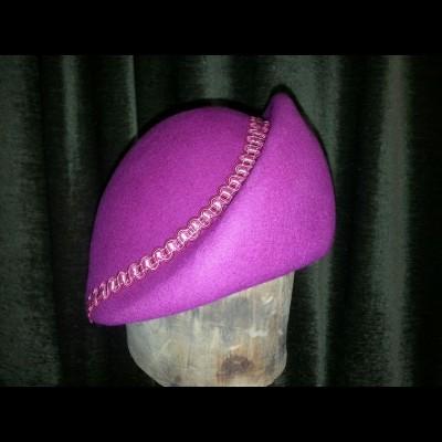 Fuschia turban