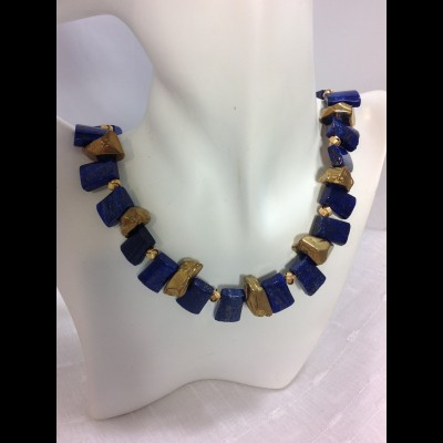 Egyptian Vermeil Necklace