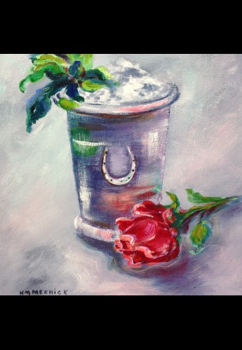 Julep Rose Painting