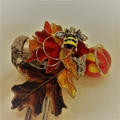 Autumn Bee Kaleidoscope