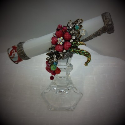 Rose Crystal Heart Kaleidoscope