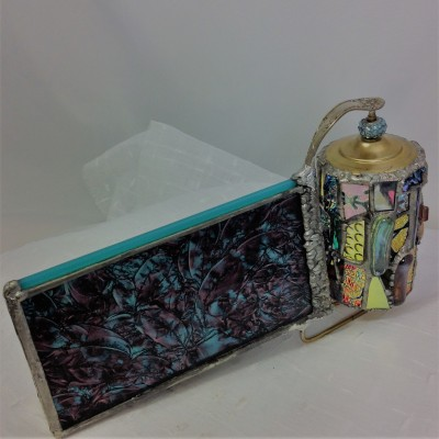 Teal Pink Barrel Kaleidoscope