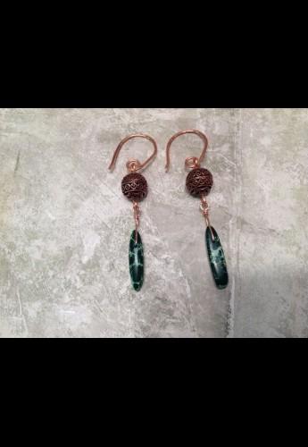 Copper Vari Earrings