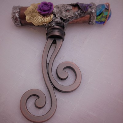 Bronze Curly Scroll Kaleidoscope
