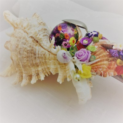 Conch Shell Flower Kaleidoscope
