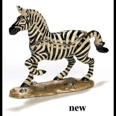Ivory and Black Zebra