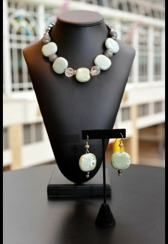 Brazil Seafoam Necklace